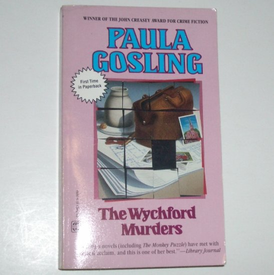 The Wychford Murders by PAULA GOSLING A Luke Abbott Mystery 1988 Worldwide Mystery