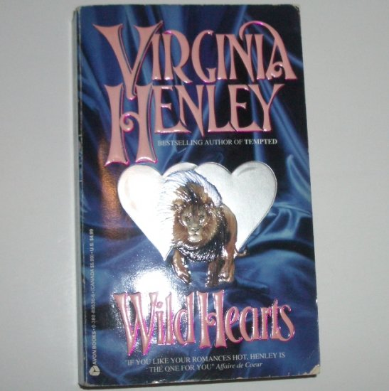 Wild Hearts by VIRGINIA HENLEY Historical Medieval Scottish Romance 1993