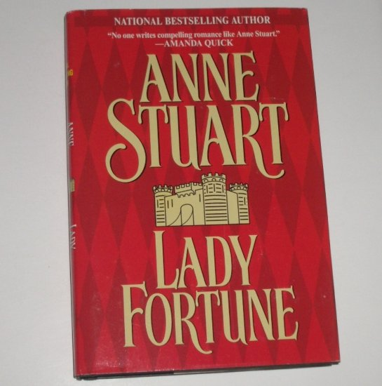 Lady Fortune by ANNE STUART Hardcover Dust Jacket 2000 Historical Medieval Romance