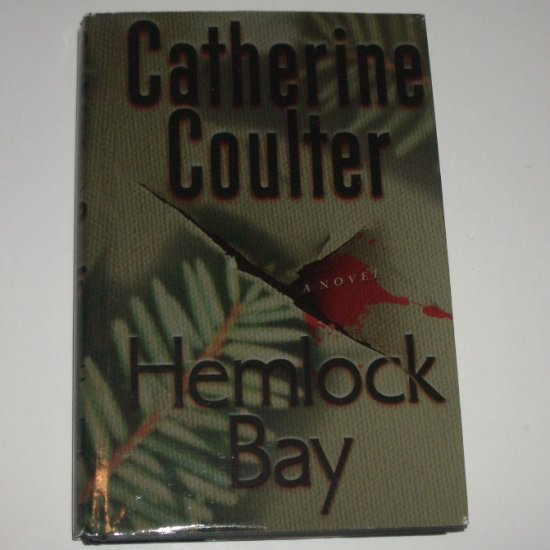 Hemlock Bay by CATHERINE COULTER Hardcover Dust Jacket An FBI Suspense Thriller 2001