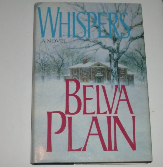 Whispers by BELVA PLAIN Hardcover Dust Jacket 1993