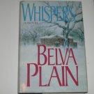Whispers by BELVA PLAIN Hardcover Dust Jacket 1993