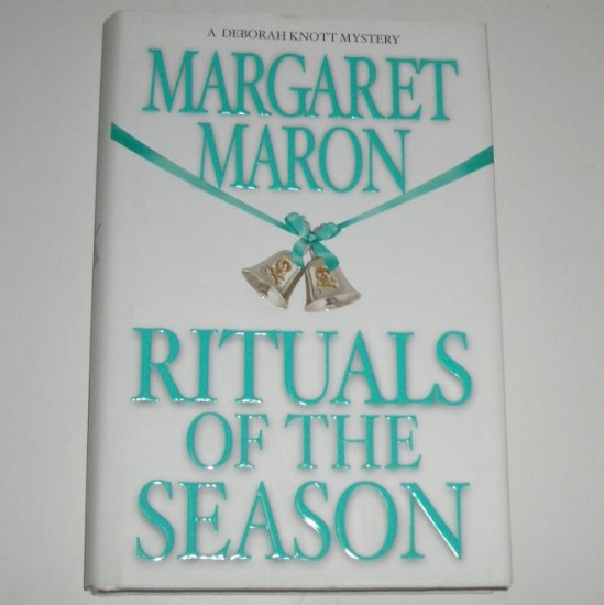 Rituals of the Season by Margaret Maron Hardcover DJ 1st Edition Deborah Knott Mystery