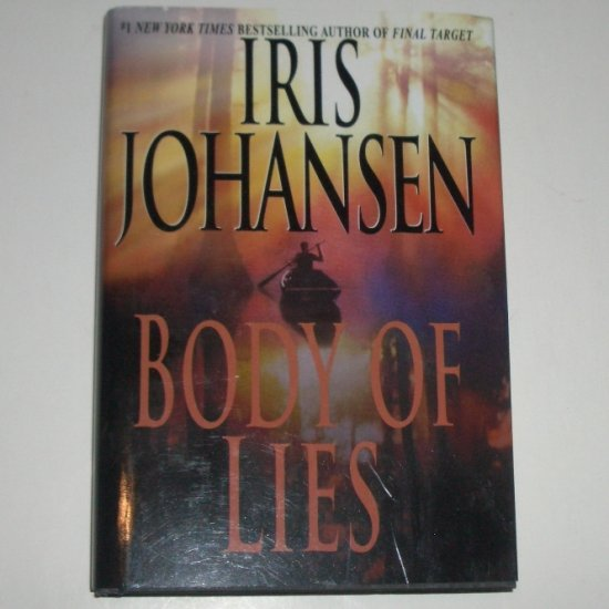 Body of Lies by IRIS JOHANSEN Hardcover Dust Jacket 2002 An Eve Duncan Forensic Thriller