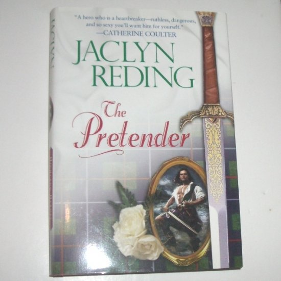 The Pretender by JACLYN REDING Hardcover Dust Jacket 2002 Highlander Heroes Series