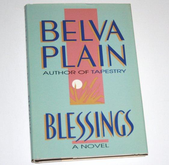 Blessings by BELVA PLAIN Hardcover Dust Jacket 1989