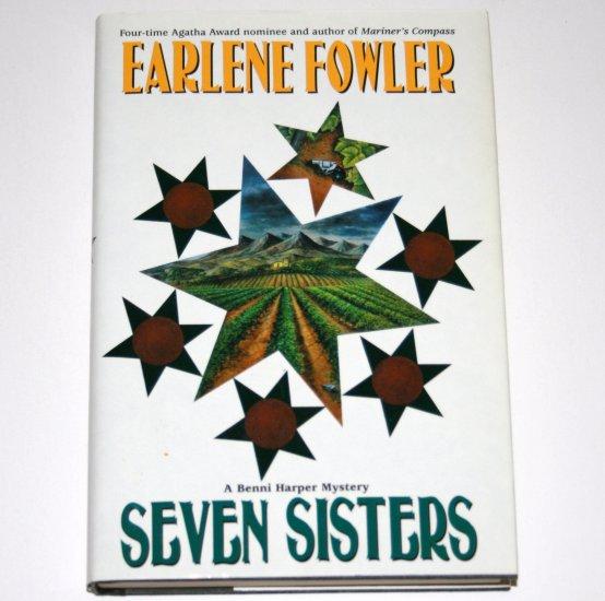Seven Sisters by EARLENE FOWLER Hardcover Dust Jacket 2000 Benni Harper Cozy Mystery