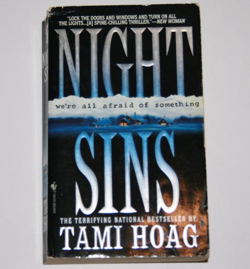 Night Sins by TAMI HOAG Suspense & Mystery in a Small Minnesota Town 1996