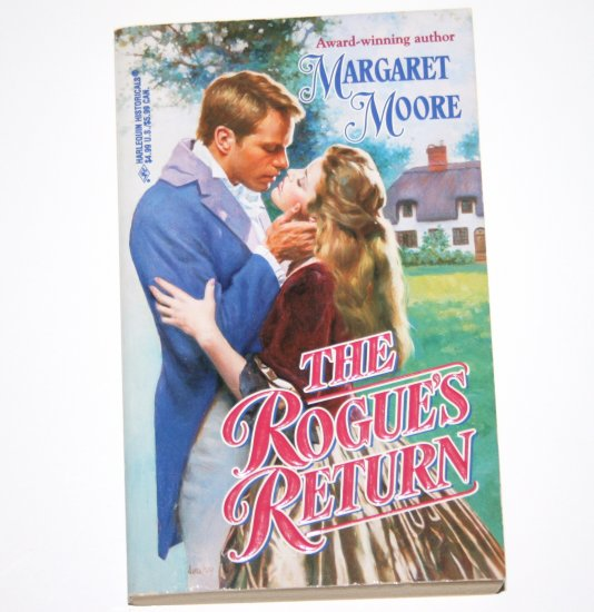 The Rogue's Return Margaret Moore ~ Harlequin Historical Romance 1997 Most Unsuitable Men Series