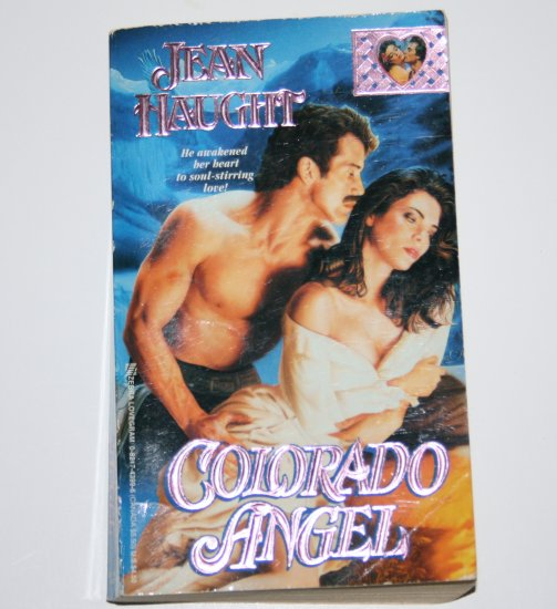 Colorado Angel by JEAN HAUGHT Historical Western Romance 1993 Zebra Lovegram