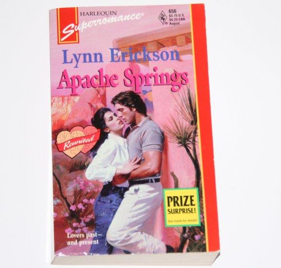 Apache Springs by Lynn Erickson Harlequin SuperRomance 656 Aug95 Reunited