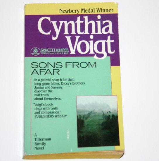 Sons from Afar CYNTHIA VOIGT YA Teen Fiction 1991 Tillerman Family Series Newbery Medal Winner