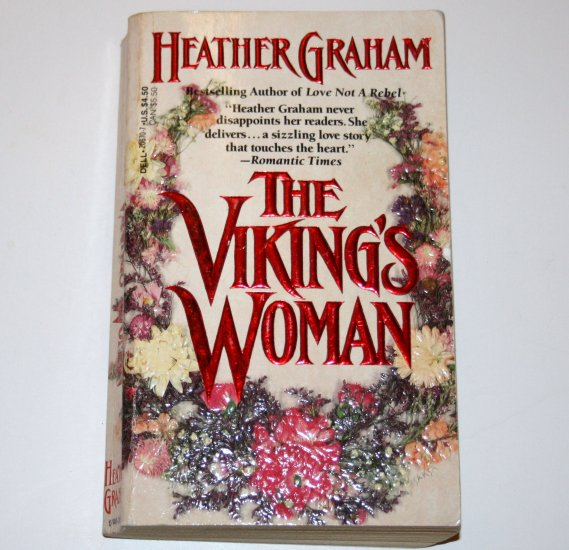 The Viking's Woman by HEATHER GRAHAM Historical Medieval Viking Romance 1990