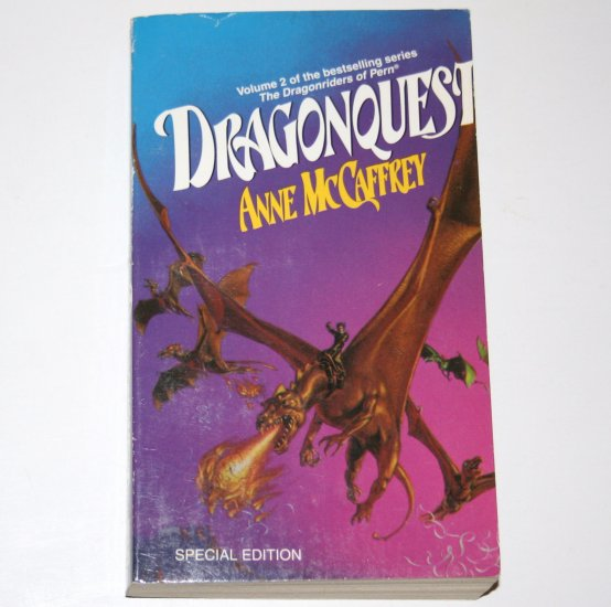Dragonquest by ANNE McCAFFREY Del Rey Special Edition 1978 Dragons of Pern Series