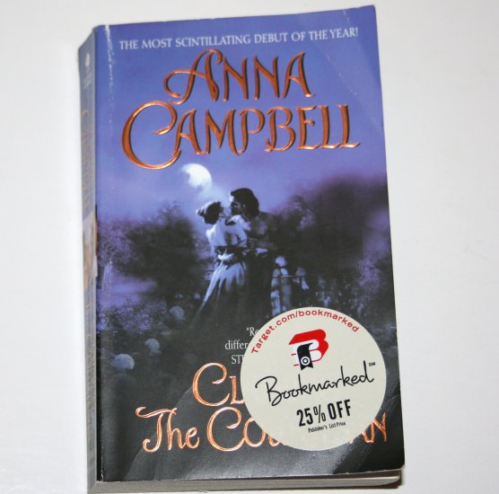 Claiming the Courtesan by ANNA CAMPBELL Avon Romantic Treasure Historical Regency Romance 2007