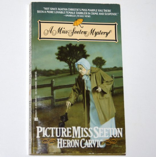 Picture Miss Seeton by HERON CARVIC Cozy Mystery 1988