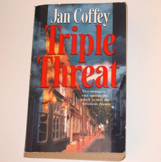 Triple Threat by JAN COFFEY Romantic Suspense 2003