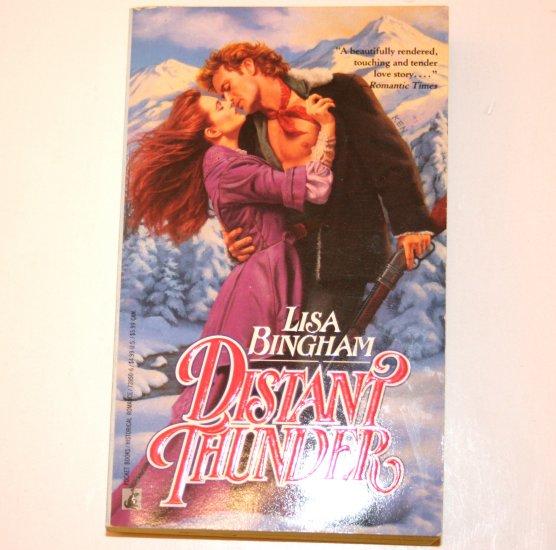 Distant Thunder by LISA BINGHAM Historical Western Romance 1992
