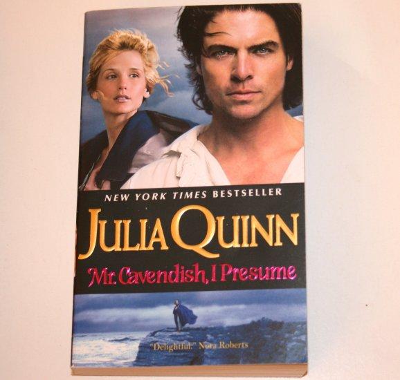 Mr. Cavendish, I Presume by JULIA QUINN Historical Regency Romance 2008 Two Dukes of Wyndham Series