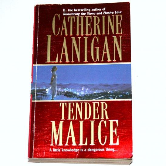 Tender Malice by CATHERINE LANIGAN Romantic Suspense 1998