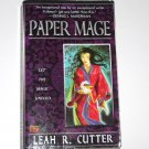 Paper Mage by LEAH R CUTTER Fantasy 2003