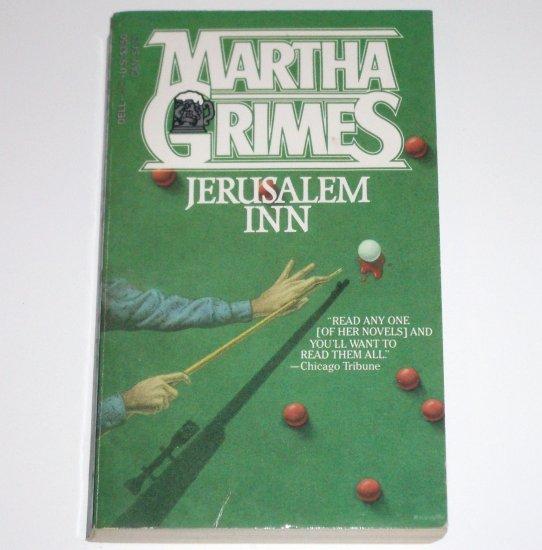 Jerusalem Inn by MARTHA GRIMES Murder Mystery 1985