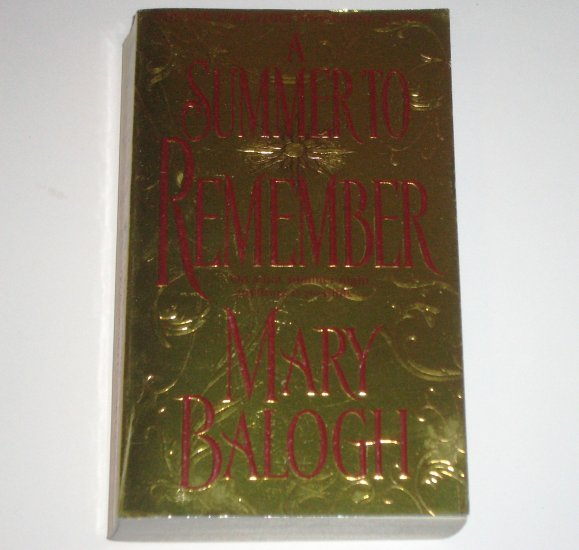 A Summer to Remember by MARY BALOGH Historical Regency Romance 2002 The Bedwyns Series