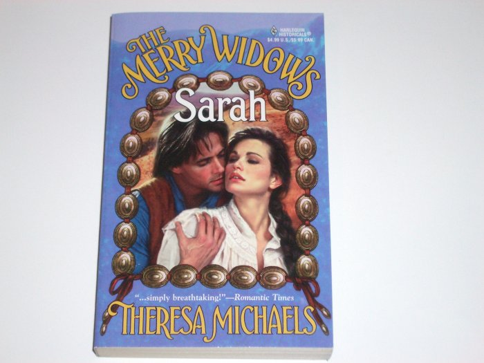 The Merry Widows ~ Sarah by THERESA MICHAELS Harlequin Historical Indian Western Romance 1999