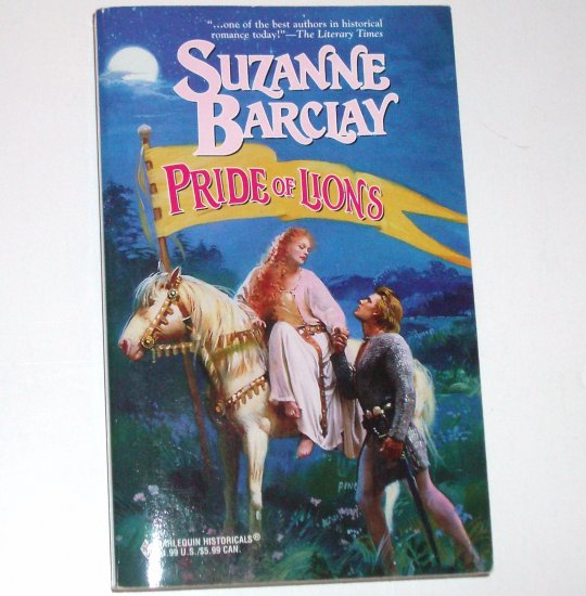 Pride of Lions by SUZANNE BARCLAY Harlequin Historical Scottish Romance No 443 1999