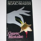 Grave Mistake by NGAIO MARSH A Roderick Alleyn Cozy Mystery 1980