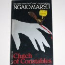 Clutch of Constables by NGAIO MARSH A Roderick Alleyn Cozy Mystery 1986