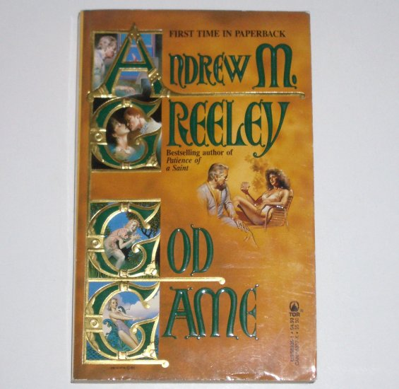 God Game by ANDREW M GREELEY Tor Science Fiction 1987