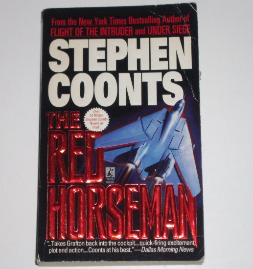 The Red Horseman by STEPHEN COONTS A Jake Grafton Novel 1994 Military Fiction