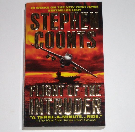Flight of the Intruder by STEPHEN COONTS A Jake Grafton Novel 2006 Military Fiction