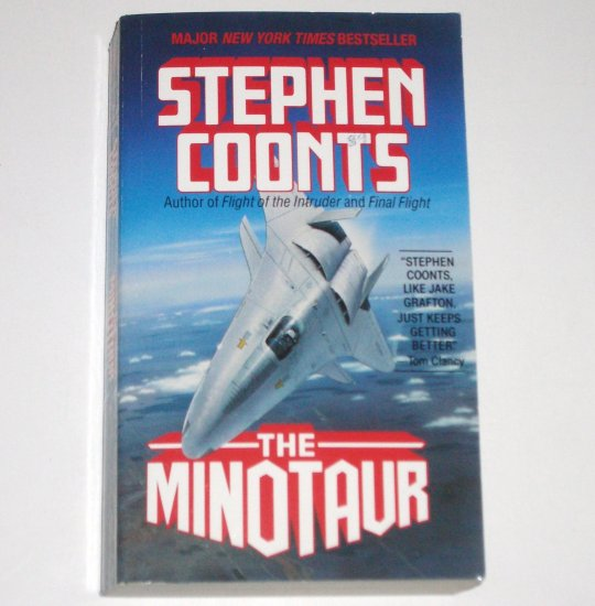 The Minotaur by STEPHEN COONTS A Jake Grafton Novel 1990 Espionage Fiction