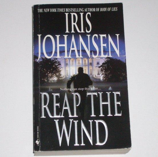 Reap the Wind by IRIS JOHANSEN Suspense Thriller 2002 Wind Dancer Series
