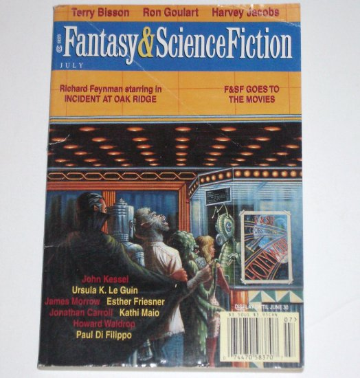 Fantasy & Science Fiction Magazine July 1998 Volume 95, No. 1