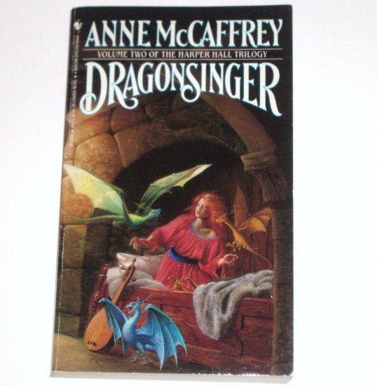 Dragonsinger by ANNE McCAFFREY Harper Hall Trilogy Volume 2 1986