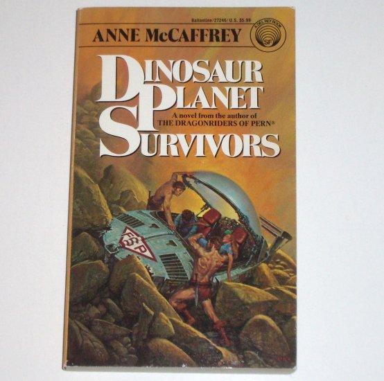 Dinosaur Planet Survivors by ANNE McCAFFREY Del Rey Science Fiction 1991
