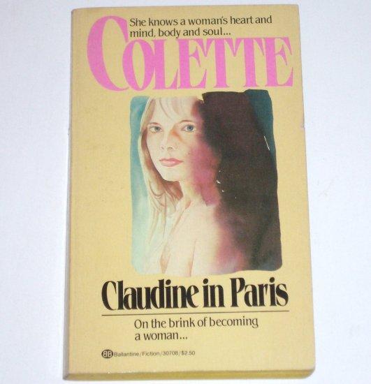 Claudine in Paris by COLETTE Erotic Romance 1982