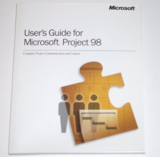 User's Guide for Microsoft Project 98 1997