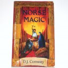 Norse Magic by D J CONWAY Llewellyn's World of Magic Series 2000