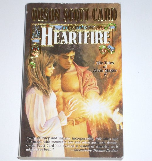 Heartfire by ORSON SCOTT CARD Fantasy 1999 Tales of Alvin Maker Series