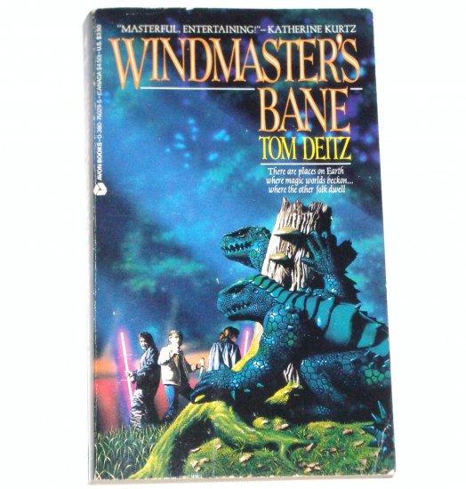 Windmaster's Bane by TOM DEITZ Fantasy 1986 The Tales of David Sullivan Series