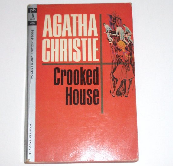 Crooked House by AGATHA CHRISTIE Dell Mystery 1964