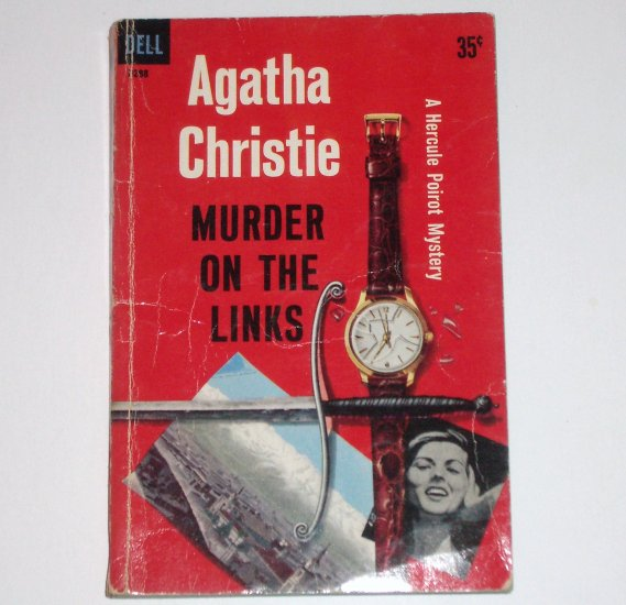 Murder on the Links by AGATHA CHRISTIE A Hercule Poirot Mystery 1959