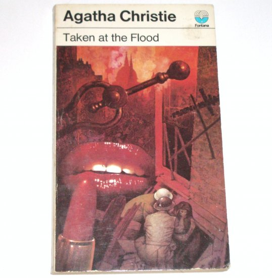 Taken at the Flood by AGATHA CHRISTIE Fontana Books Import 1973 Mystery