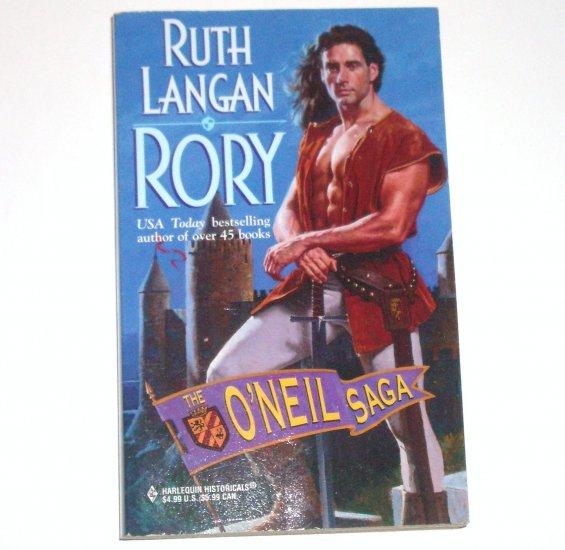 Rory by RUTH LANGAN Harlequin Historical Renaissance Romance 1999 The O'Neil Saga Series