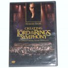 Creating the Lord of the Rings Symphony with Howard Shore DVD New