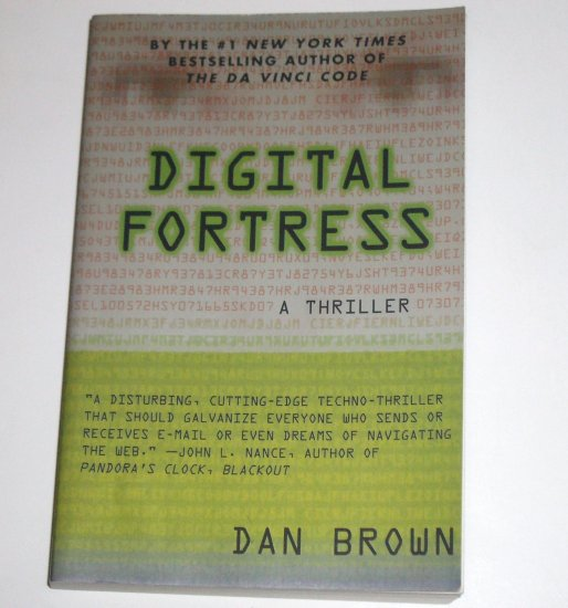 Digital Fortress by DAN BROWN Trade Size Thriller 1998